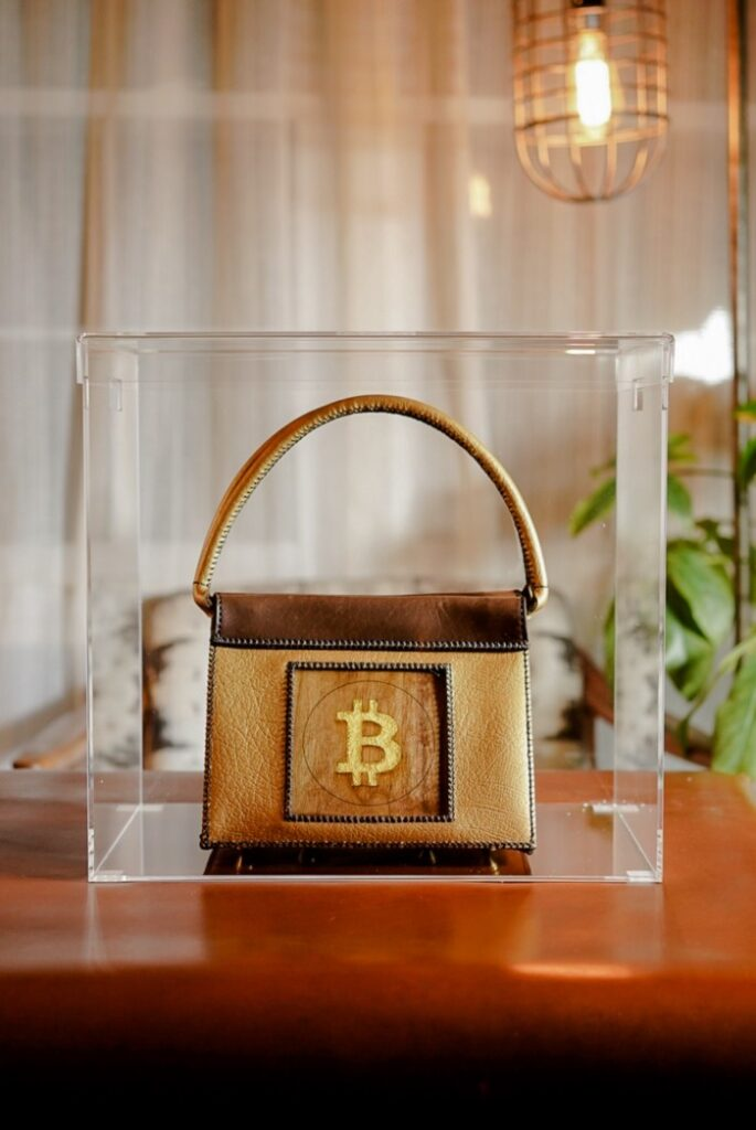 The Bitcoin Bag from Boysterous Couture